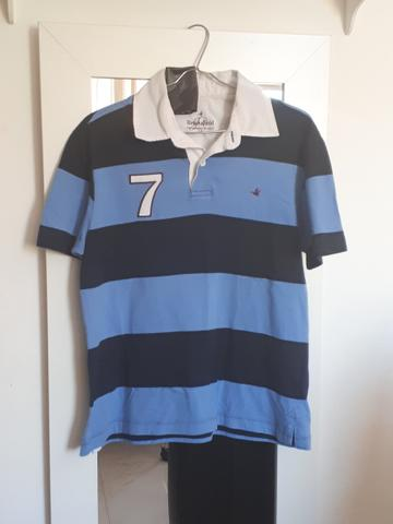 Camisa brooksfield polo malha 14 anos - Roupas e calçados - Santa ... 681b45bde5c5f