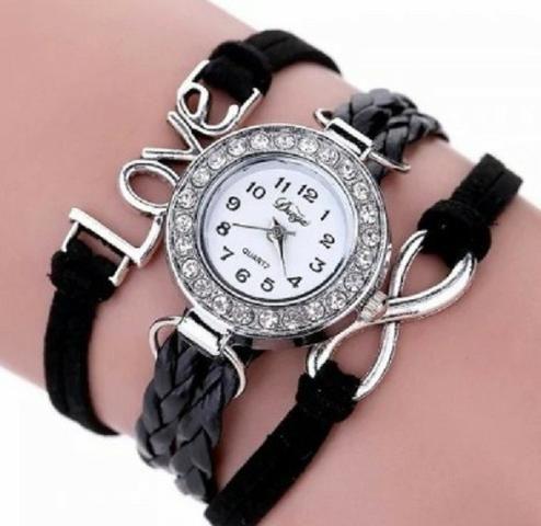 5d72330ae00 Relógio De Pulso - Love Design - Feminino - Bijouterias