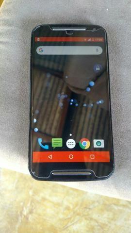 (celular moto G2 16 GB com tv