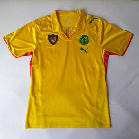 a564c3c591 Camisa Camarões Dourada 07 08 (M) - Esportes e ginástica - Trindade ...