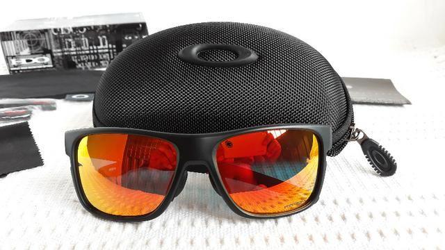 Óculos Oakley Crossrange XL Preto Rubi Prizm - Importado ... de0e26af3a