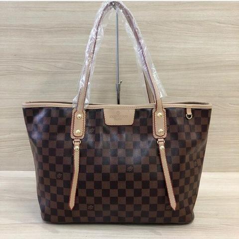 ef66f6d24 Bolsa Shopper Louis Vuitton Monograma Paris Neverfull - Bolsas ...