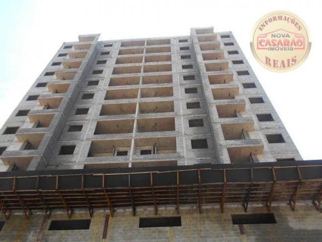 Apartamento com 2 dormitórios à venda, 72 m² por R$ 362.373 - Cidade Ocian - Praia Grande/ - Foto 2