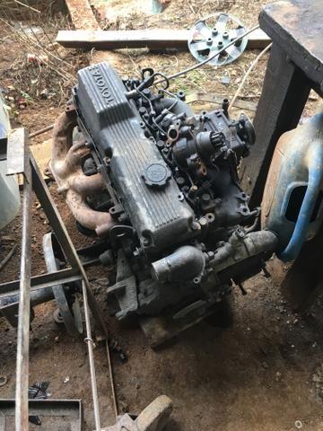 Motor 14b Toyota baixado funcionando ok - Foto 2