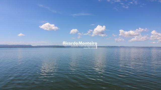 Chácara na beira do lago, pronta para morar a 22km do centro de Palmas