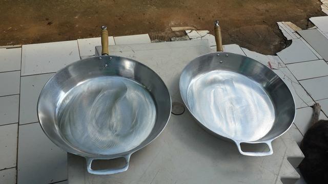 Frigideiras de alumínio batido - Foto 3