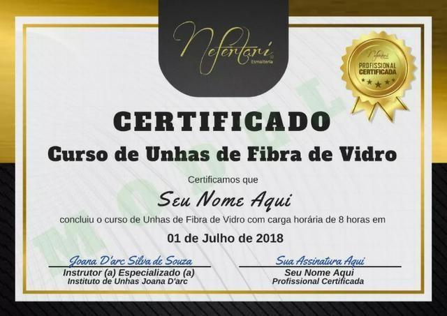 6e859ba01 Unhas de Fibra de Vidro-Curso Online (com certificado) - Serviços ...