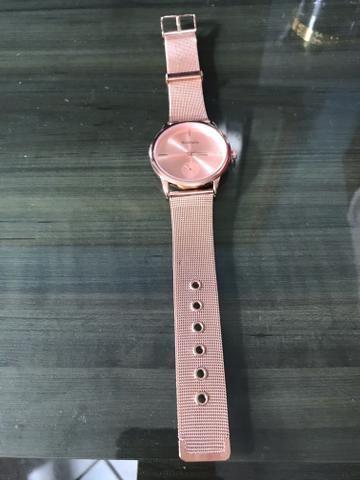 Relógio Feminino Rosé