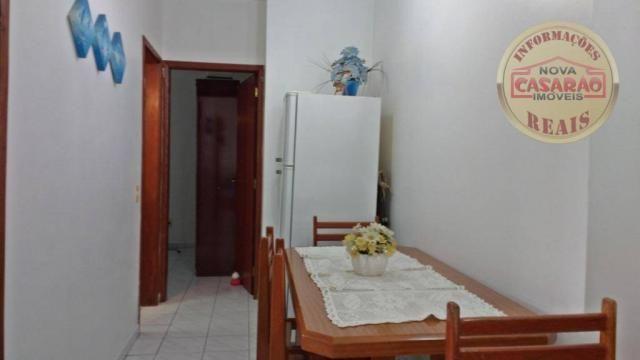 Apartamento com 1 dormitório à venda, 61 m² por R$ 225.000 - Boqueirão - Praia Grande/SP - Foto 3