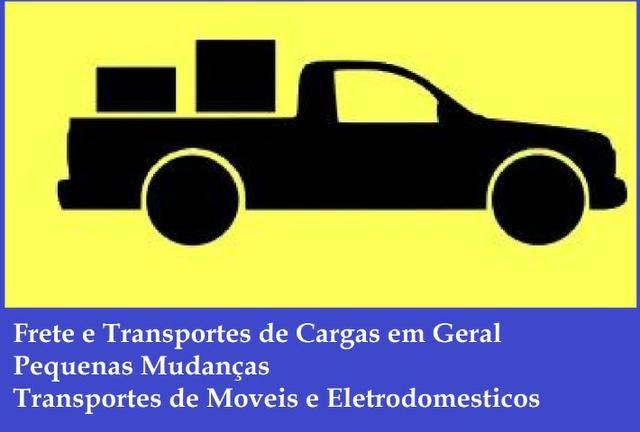 Frete / Pequenas Mudanças / Transporte de Cargas em Geral - Foto 2