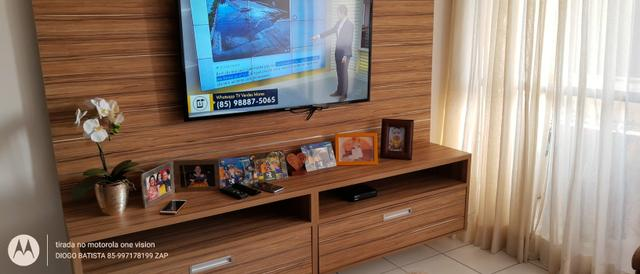Apartamento no centro de Messejana, _ quartos móveis projetados - Foto 19