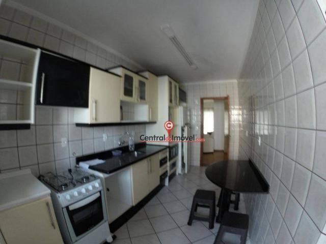 Apartamento com 3 dormitórios para alugar, 128 m² por r$ 450/dia - centro - balneário camb - Foto 3