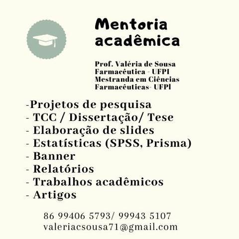 Consultoria acadêmica para trabalhos