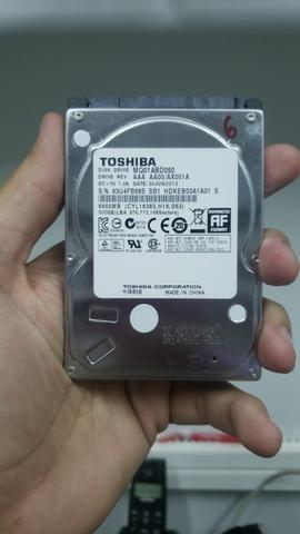HD Toshiba 500 gb para notebook