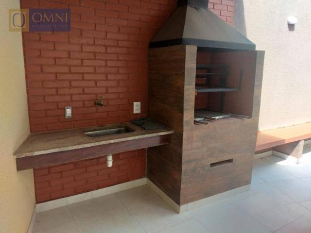 Sobrado com 4 dormitórios à venda, 208 m² por R$ 615.000,00 - Vila Valparaíso - Santo Andr - Foto 12