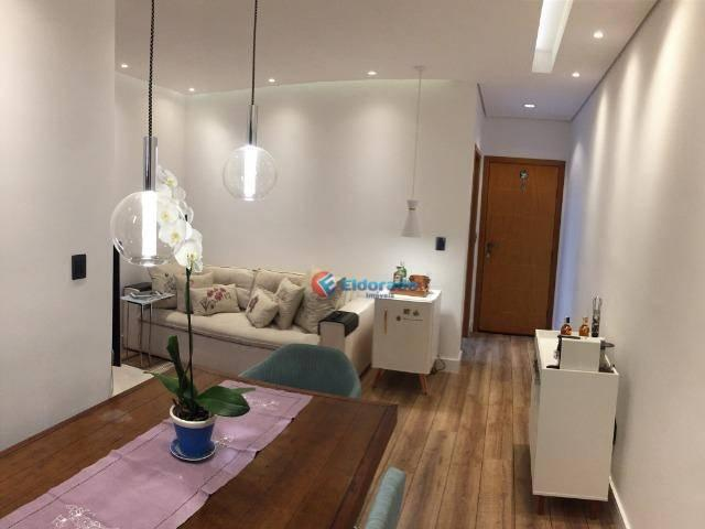 Apartamento à venda, 58 m² por r$ 281.000,00 - jardim marajoara - nova odessa/sp - Foto 2