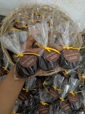 Cesta com chocolates - Foto 5