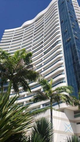 Cobertura com 3 dormitórios à venda, 130 m² por r$ 1.725.000,00 - meireles - fortaleza/ce