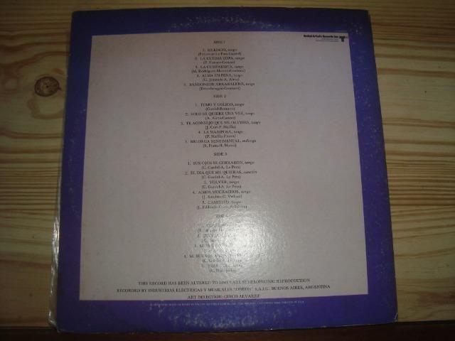 Carlos Gardel, Tango, Album duplo com 2 Lp importados, excelente conservação - Foto 2