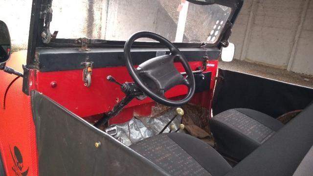 Jeep Willys 1977 4X4 Com Reduzida - Foto 16
