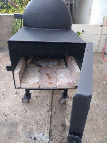 Pit smoker  - Foto 3