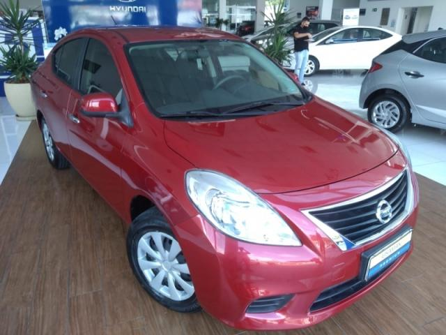 NISSAN VERSA 1.6 16V FLEX S 4P MANUAL.