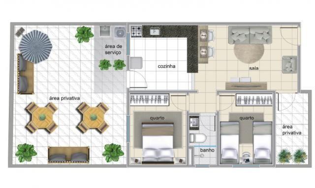 Apartamento à venda com 2 dormitórios em Serrano, Belo horizonte cod:IBH1784 - Foto 2