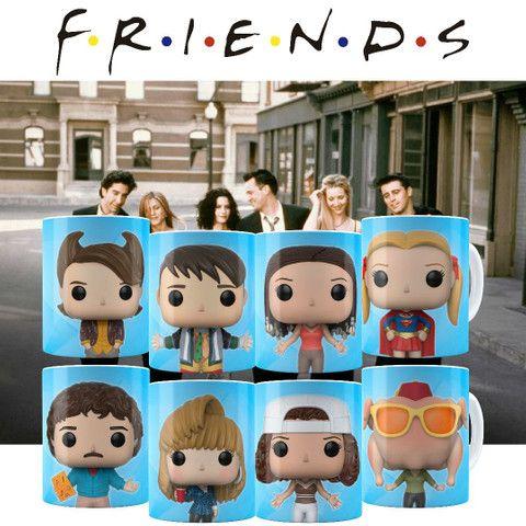 Canecas Colecionáveis Funko Pop Friends!