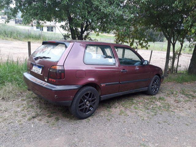 RARIDADE GOLF GTI 1995/ depende o carro pego na troca - Foto 5