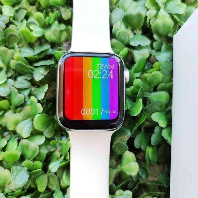 Relógio inteligente Smartwatch W26 44mm - Foto 4