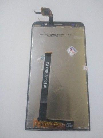 Frontal nova Zenfone 2 ZE 551 ML R$ 130,00 - Foto 2