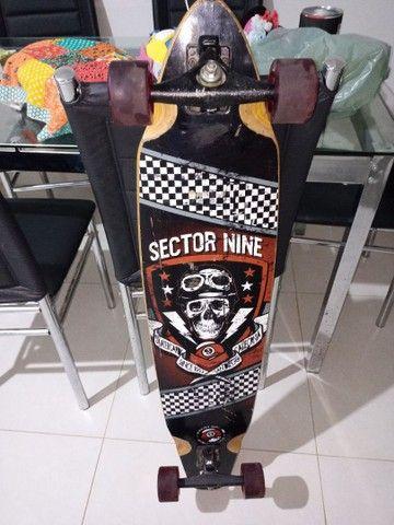 Skate longboard dowhill sector nine original americano - Foto 6