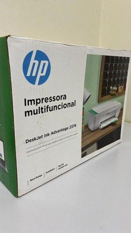 Impressora Multifuncional HP Deskjet Ink Advantage 2376, Jato de Tinta, Colorida, Bivolt