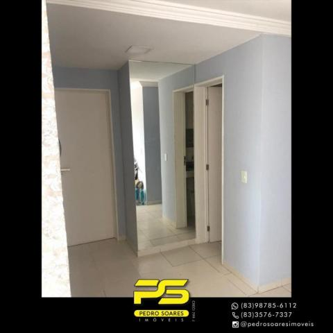 Apartamento com 2 dormitórios para alugar, 60 m² por R$ 1.700/mês - Altiplano Cabo Branco  - Foto 4
