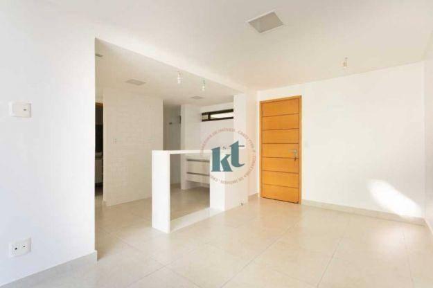 Apartamento com 2 dormitórios à venda, 59 m² por R$ 420.000 - Cabo Branco - João Pessoa/PB - Foto 2