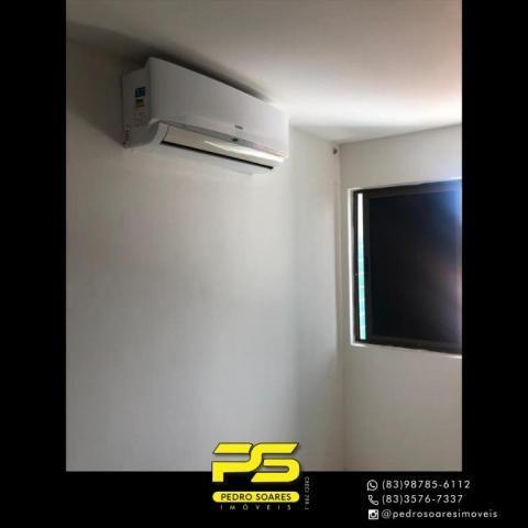 Apartamento com 2 dormitórios para alugar, 60 m² por R$ 1.700/mês - Altiplano Cabo Branco  - Foto 14