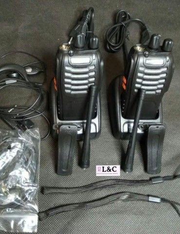 Poucas unidades do Radio Comunicador Walk Talk . 5km de alcance .telefone