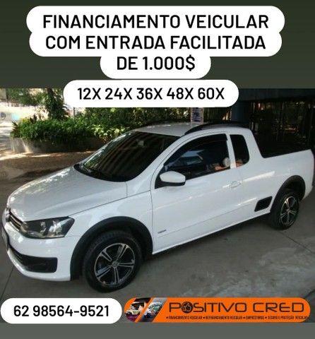 Volkswagen Saveiro Cab/estendida c/entrada de 1.000$