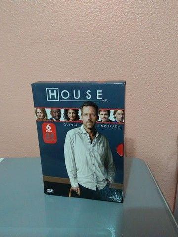 House DVD Temp 01 a 05 - Foto 3