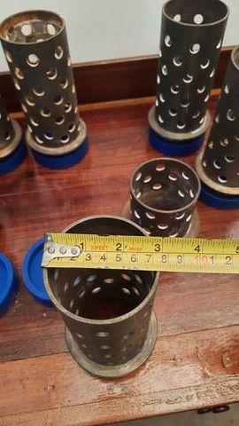 """Tubos de aço inox para fundição 3"""" X 18cm - Foto 5"""