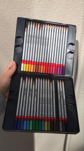 Lápis Aquarelável -  Karat Staedtler 35 cores - Foto 2