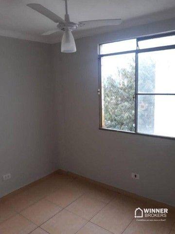 Apartamento com 3 dormitórios para alugar, 64 m² por R$ 900,00/mês - Zona 08 - Maringá/PR - Foto 7