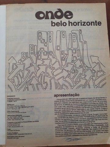 Catálogo Telefônico BH- Edição 76/77 - *Preço Negociável- Não aceito troca - Foto 2