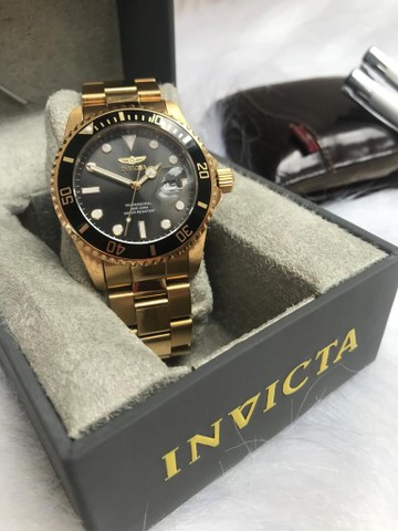 INVICTA PRO DIVER MENS QUARTZ 42MM - 33271  - ORIGINAL -SEMI-NOVO - Foto 4
