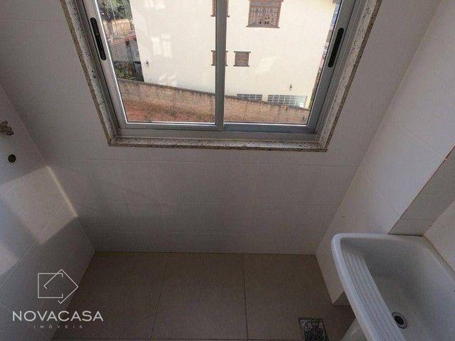 Apartamento com 3 dormitórios à venda, 56 m² por R$ 300.000,00 - Candelária - Belo Horizon - Foto 19