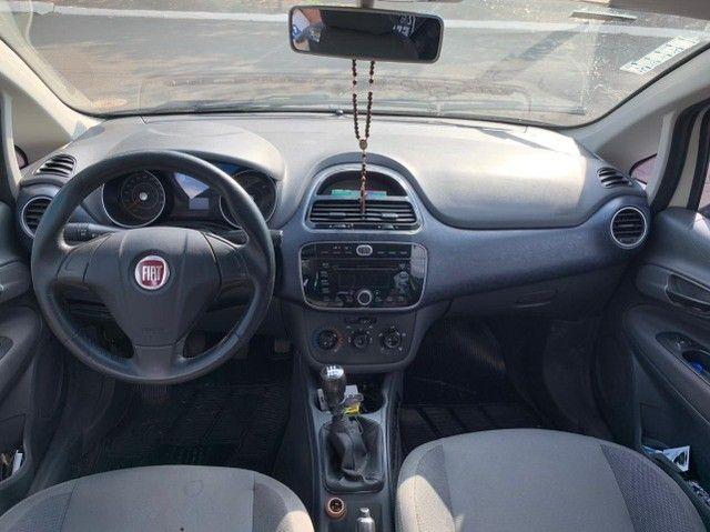 Fiat Punto 1.4 Attractive 8v Flex 4p 2013-2014 31900 - Foto 10