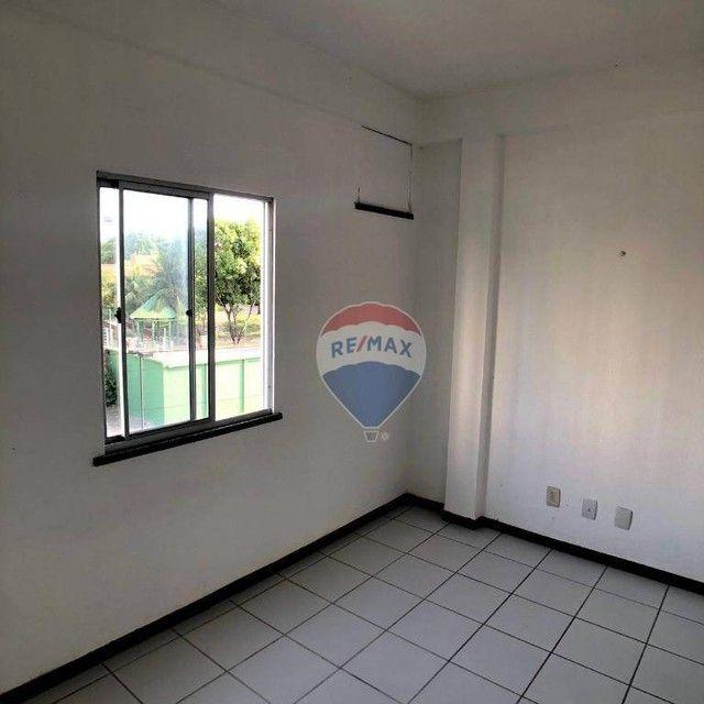 Apartamento com 2 dormitórios para alugar, 51 m² por R$ 820,00/mês - Edson Queiroz - Forta - Foto 10