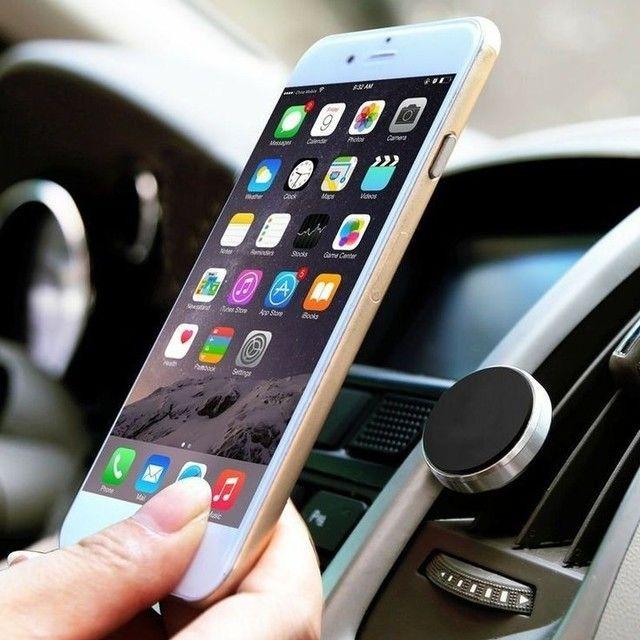Suporte para celular para carro 4 imãs