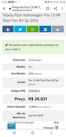 Venda Fox Flex 2012  - Foto 4