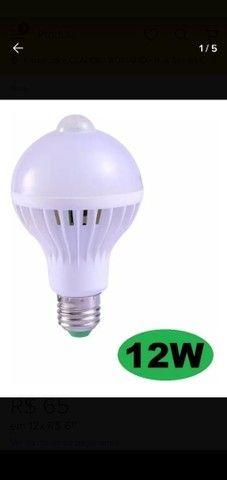 Lâmpada Led com Sensor de Movimento - Foto 2
